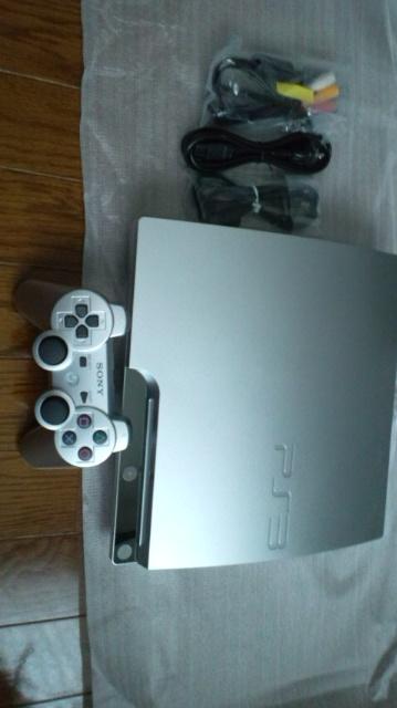 新型PS3シルバー